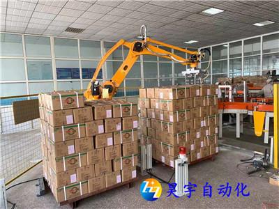 码垛机器人在箱装产品生产线起到重要作用